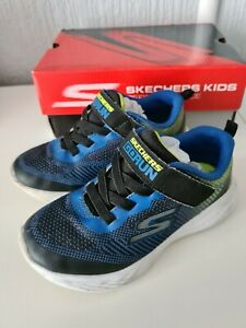 Boys Skechers Go Run Trainers Toddler Size Uk 9