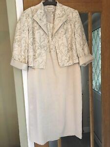 Roman Originals Dress & Jacket Mother Of The Bride Groom Wedding Outfit 16 18
