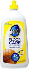 Pledge FloorCare Wood Squirt - Mop, Lemon Scent 27 oz