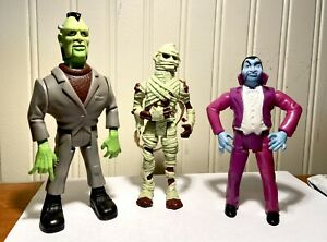 THE REAL GHOSTBUSTERS - Monster Figure Set (3 of 6) Vintage Kenner