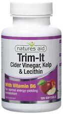 Natures Aid Trim-it With Cider Vinegar Kelp and Vitamin B6 120 Softgels