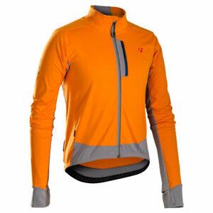 The Bontrager RXL 180 Softshell Jacket Orange Thermal Profila Full Zipp New