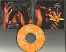 LIL LOUIS & THE WORLD Saved My Life 4MIXES &EDIT PROMO CD Single MASTERS AT WORK