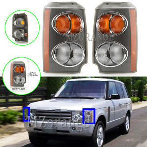 Left Right Side Front Indicator Side Light Lamps For Land Range Rover 2002-2005