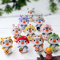 Cute Penguin Animal Wool Felt Craft DIY Poked Set Handcraft Needle Material YK