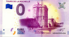 17 LA ROCHELLE Les Tours, N° de la 5ème liasse, 2018, Billet 0 € Souvenir