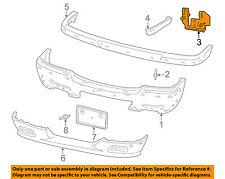 MAZDA OEM 99-07 B3000 Front Bumper-Reinforcement Left ZZR050037