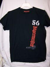 Jagermeister Dark Navy 56 Herbs Stag Embroidered Mens Liquor Booze Shirt Size LG