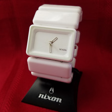 "Nixon ""The Vega"" (White) 30M 3-Hand Japanese Movement [9I]"