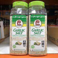 2 Packs Of Lawry's Coarse Ground Garlic Salt with Parsley, 33 oz Each