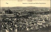 Prag Praha Tschechien Postcard alte AK~1910 Hradschin Hradčany Kleinseite Kirche
