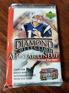 2004 Upper Deck Diamond NFL Football 12 card pack:Big Ben, Manning, Rivers RC's?