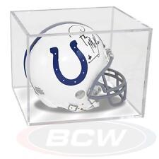 1 Ballqube Football Mini Helmet Storage Holder Cube Display Case