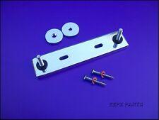 Teisco /Japanese Guitar Bridge Base - 4mm Posts, 74mm Spacing.  EZPZ GUITAR PART
