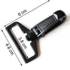 6 Anneau Mousqueton Pivotant Intérieure 38mm sac a main bandouliere sangle noir