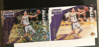 Lonzo Ball 2018-19 Panini Threads In Motion #13 Dazzle Parallel & Base - LOT(2)