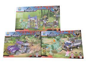 Jurassic Legend Dino Capture/ Escape 3 Piece Set + Free Small Mystery Box Set