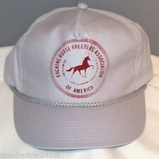 Racking Horse Breeder's Association of America Gray Ball Cap Hat by Younglin