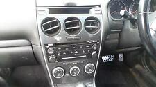 MAZDA 6 GG GY RADIO CD PLAYER SERES 2 IN BLACK BOSE