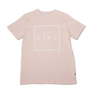 KING APPAREL - British Streetwear - Select London T-shirt - Blush Pink [BNWT]