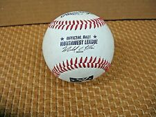 Defunct Northwest League Official Rawlings Baseball Michael C Ellis ex-President