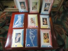 Vintage Lot Of 9 Pin Up Model Bikini Girls Cheesecakes Color Postcards 1950s