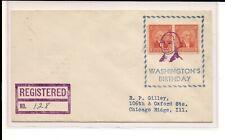 Washington Ut 20th Century Fancy Wash, purple Washington portrait, Registered