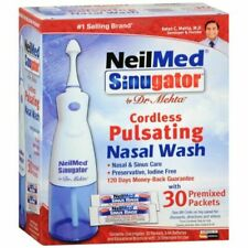 NeilMed Sinugator Cordless Pulsating Nasal Wash - Pack of 30