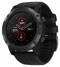 Garmin fēnix 5X Plus 51mm Black Case and Black Band GPS Multisport Watch - Sapphire Edition (010-01989-00)
