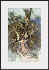 Warwick Goble, THE VEARIES, Book Of Fairy Poetry, NEW Fine Art Giclee Print, Fae
