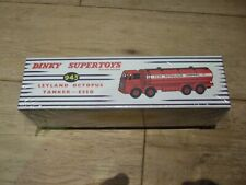 DINKY SUPERTOYS ATLAS LEYLAND OCTOPUS ESSO TANKER No 943 BOXED NEW & SEALED