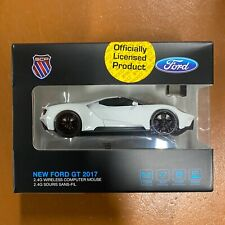 NEW FORD GT Wireless Computer Car Mouse WHITE - IDEAL GIFT
