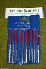 Expo Tools 10 piece MINI DIAMOND NEEDLE FILE SET 72506