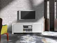 MOBILE PORTA TV IN LEGNO ABETE BIANCO SPAZZOLATO 165*45*55 H, SPEDIZIONE GRATIS
