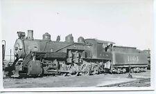 7A145 RP 1947 KCS KANSAS CITY SOUTHERN RAILROAD ENGINE #1004 PITTSBURG KS