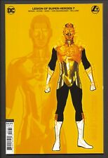 Legion of Super-Heroes #7 (2020) 1:25 Ryan Sook Gold Lantern Design Variant ~ NM