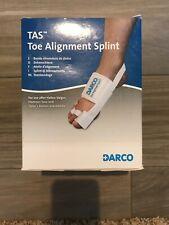Darco Toe Alignment Splint for Hallux Valgus, Hammer Toe, Tailor's Bunion TAS