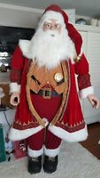 Life Size Deluxe Members Mark Santa Claus Tall Over 6'