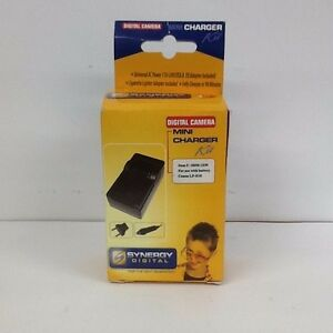 Synergy Digital SDM-1539 Digital Camera Mini Charger Kit For Canon LP-E10