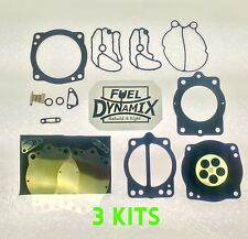 2001-2004 Polaris Keihin Triple Carburetor Rebuild Kit Virage TX Freedom Octane