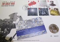 UK 2014 The Great War 1914-1918 Royal Mint BUnc £2 Two Pound Coin Cover PNC