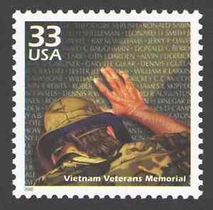 US. 3190g. 33c. Vietnam Veterans Memorial. Celebrate The Century. MNH. 2000