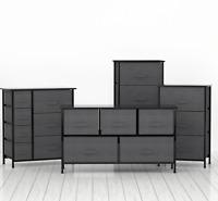 2/3/4/5/7 Drawer Storage Bedroom Chest of Dresser Tower Shelf Organizer Cabinet
