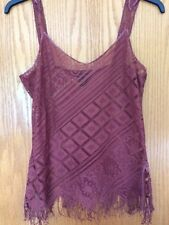 LADIES LACY TOP BY MODA INTERNATIONAL L