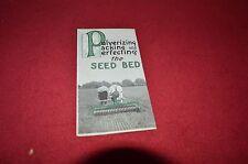 Massey Harris Ferguson Soil Pulverizer Dealers Brochure YABE4