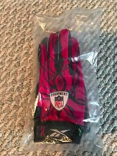 NEW Reebok NFL Equipment Football Mayhem Receiver Gloves Adult Medium Pink