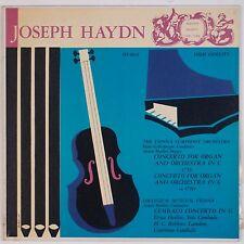 HAYDN: Concerto for Organ Heiller HAYDN SOCIETY 50s Scarce NM- Vinyl LP