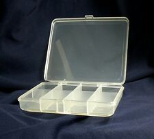 Fly Fishing Fly Hook Bead Boxes Case Hook 8 Compartment Plastic Tackle TLFS