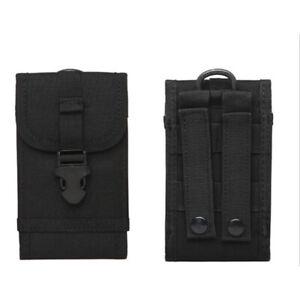 Tactical Molle Phone Pouch Riñonera Tarjeta Key Pocket Utilidad Para Exteriores