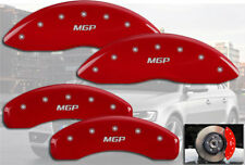2004-2010 Audi A8 Quattro 385mm Front + Rear Red MGP Brake Disc Caliper Covers